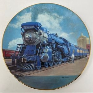 Hamilton Collection The Blue Comet Plate